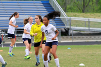 Lady Generals Soccer 4/21/16